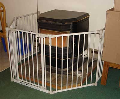 Pellet Stove Gate - Safety Gate For Pellet Stove A Thing Or Two